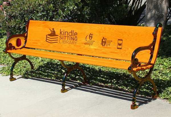 Kindle Sitting Library - Miami Ad School - Student work 2015 - 1