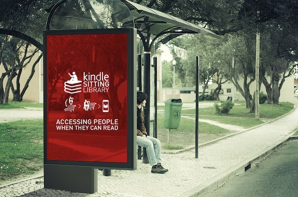 Kindle Sitting Library - Miami Ad School - Student work 2015 - 4